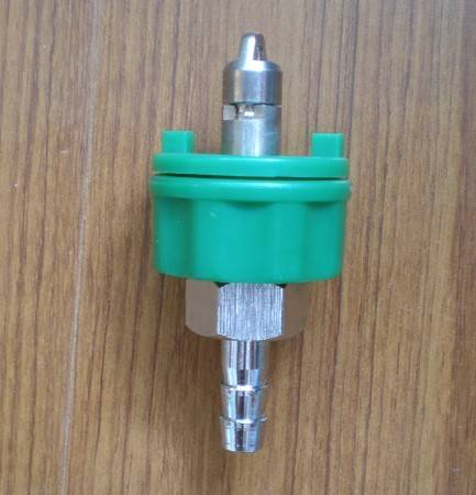 Adaptor for gas outlet Ohmeda