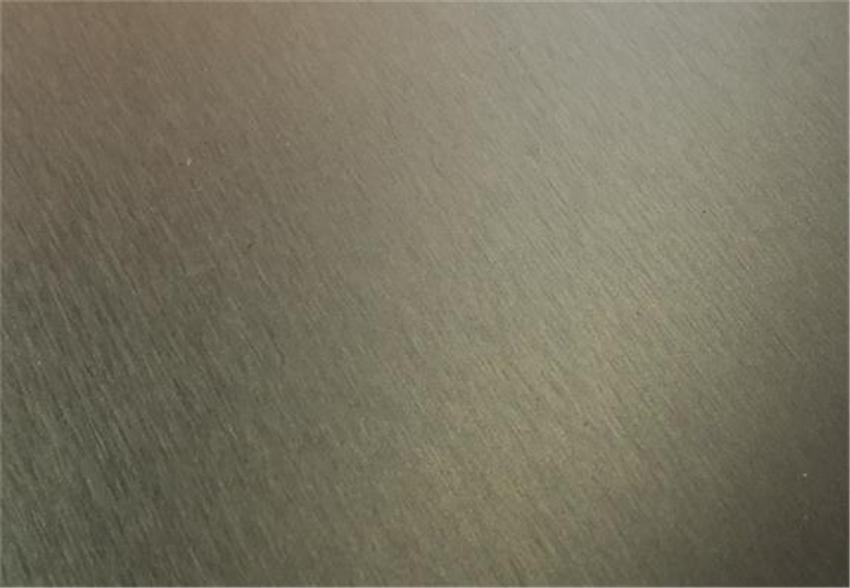 Cool Metal brushed PET surface panel