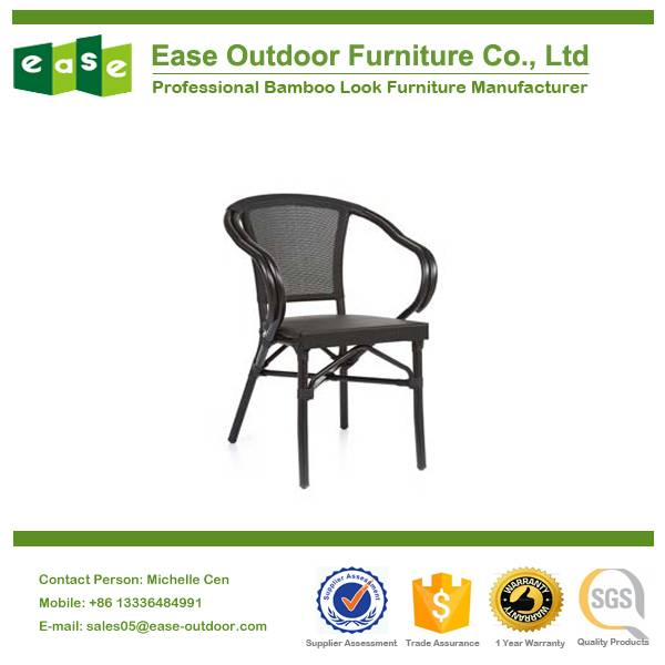 offering stackable textilene chair model No.E8020