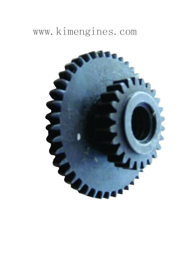 Reverse Two-throw Gear for tiller