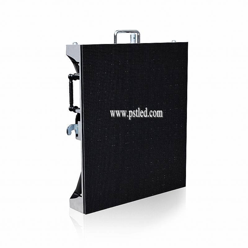 P3.5mm Indoor Black LEDs Die Casting Rental led display PR-FINE