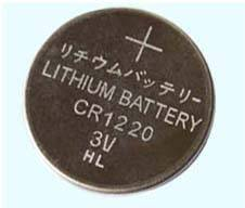 CR1220 button cell battery/coin cells