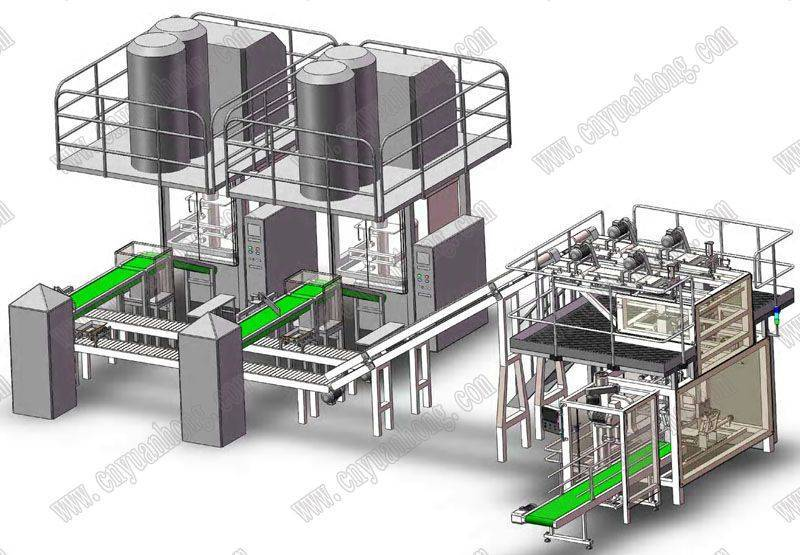 Fully Automatic Secondary Bag in Bag Packing Machine(GFP1S2)