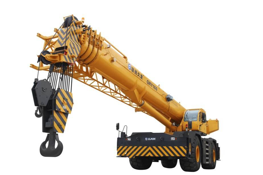 160ton rough terrain crane