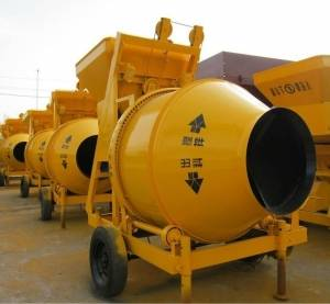 JZC concrete mixer and concrete Pump