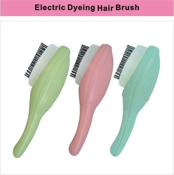Hair dyeing brush