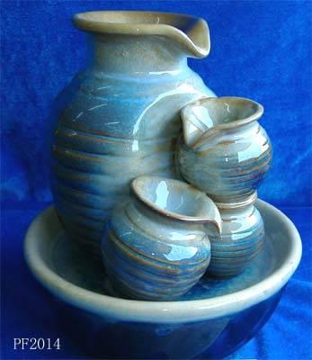 Ceramic glazed fountain