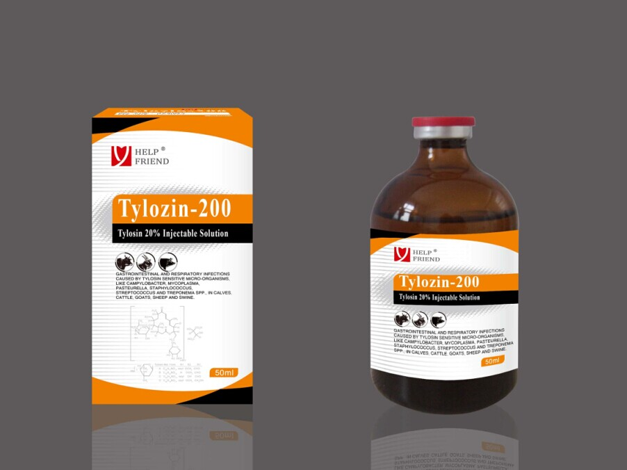 Tylosin 20% Injectable Solution