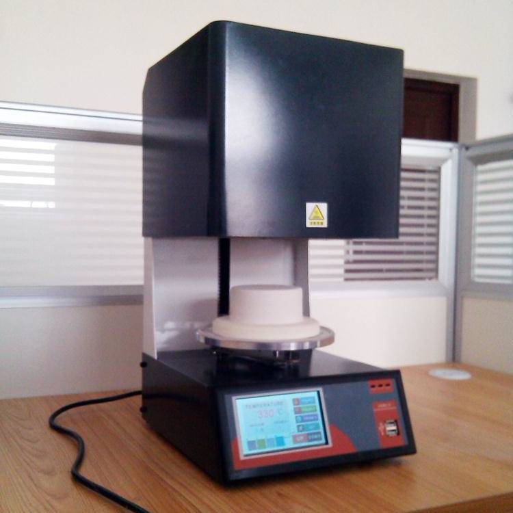 dental porcelain furnace with PID touch screen programmable control