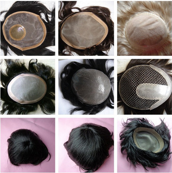 best selling indian remy hair Thin Skin toupee hair piece remy human hair