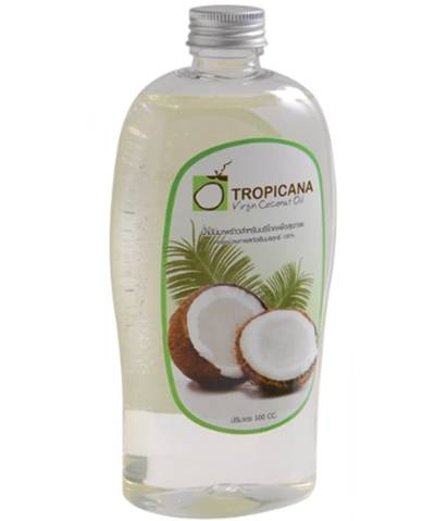 Tropicana Cold Pressed Virgin Coconut Oil 100% 500cc.