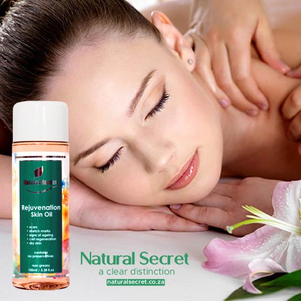 Natural Secret Rejuvenation Skin Oil For Stretch Marks