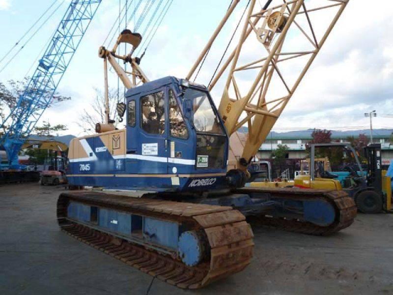 Sell very good working crane KOBELCO 7055