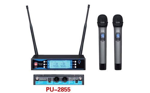 PU-2855 Uhf Wireless Handheld Microphone