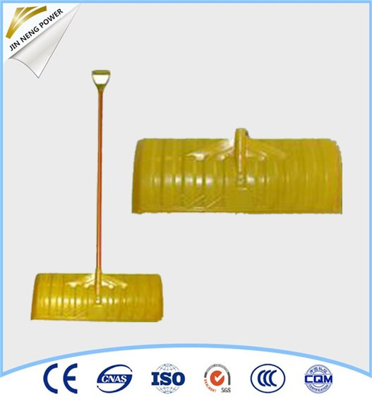 Long steel handle snow shovel /manual snow pusher for Promotions