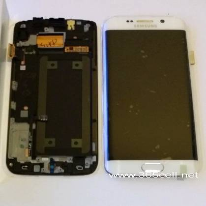 Samsung S6 edge oem new LCD assembly with frame
