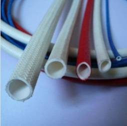 Silicone rubber fiberglass tube