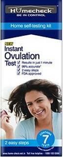 HOME CHECK OVULATION TEST KIT