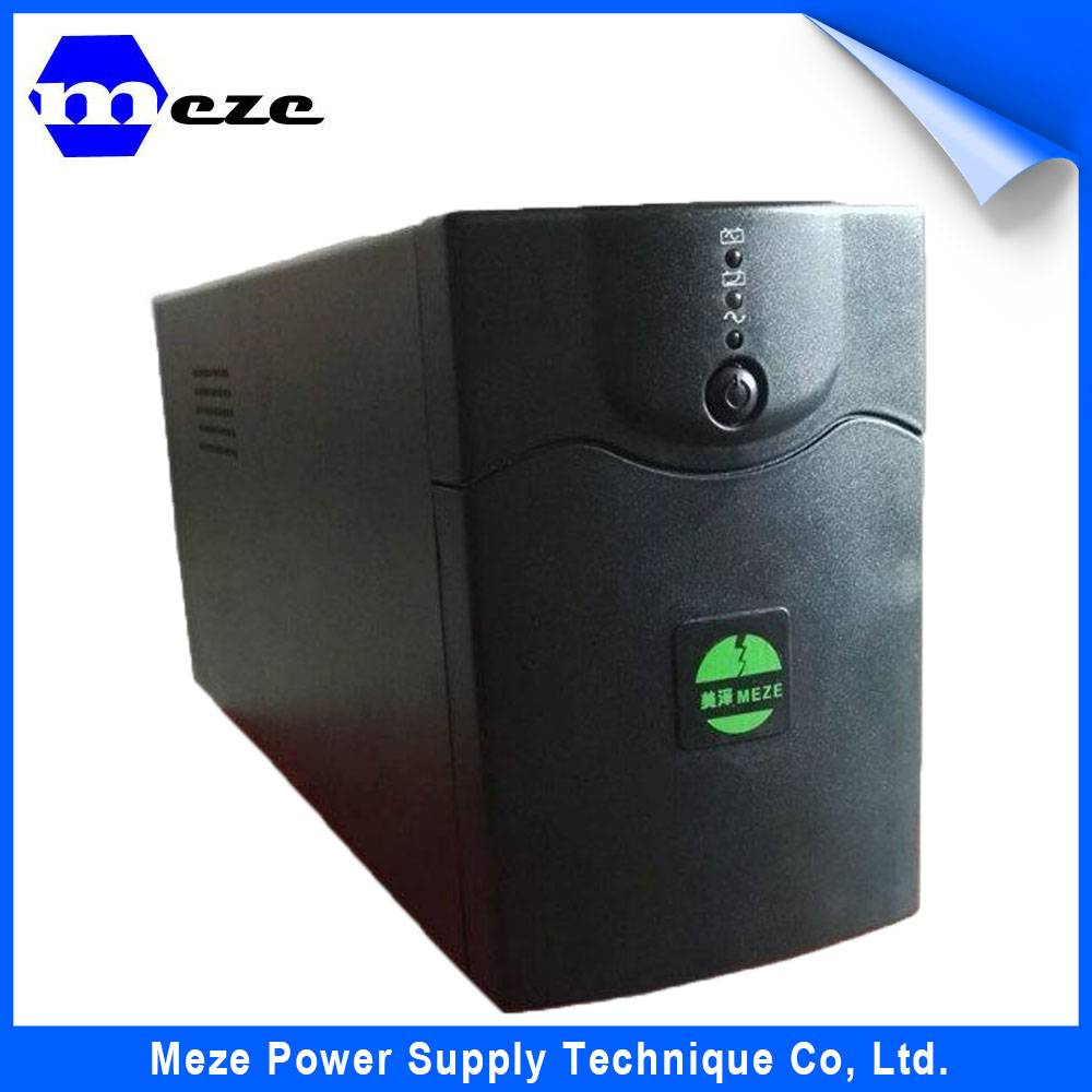 Factory Price Mini DC Online UPS with 12v Lead-acid Battery