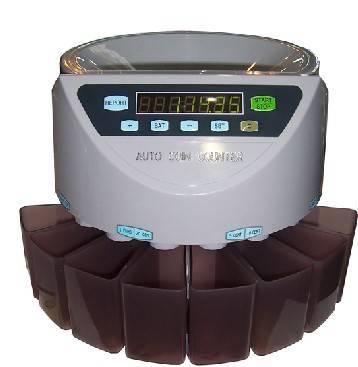 EC-1000 coin counter and sorter