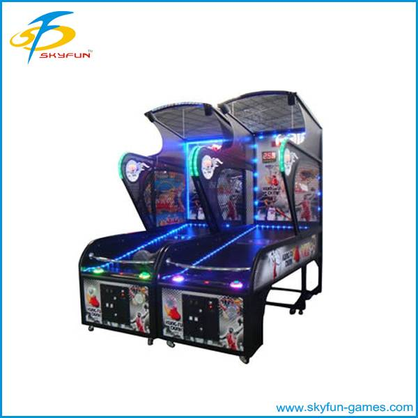 Street electronic coin operated basketball game machine