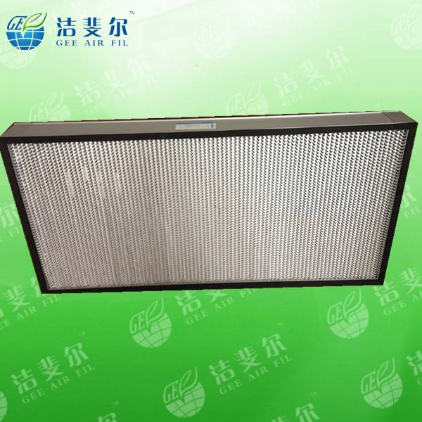 HEPA air filter with aluminum/paper separator,H13-H14