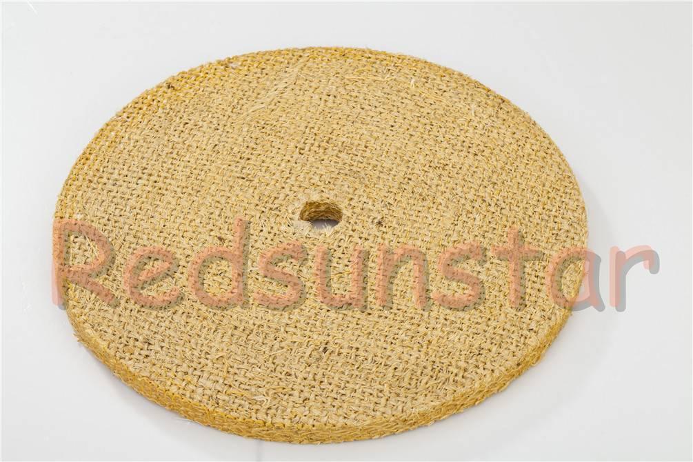 Oiled Sisal Buff Abrasive Disc Sisal Polishing Wheel