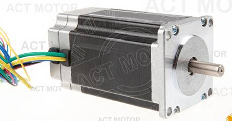 Nice Motor ACT Nema23 Brushless DC Motor 57BLF01 24V 63W 3000RPM 3Phase Single Shaft CNC Router Mil