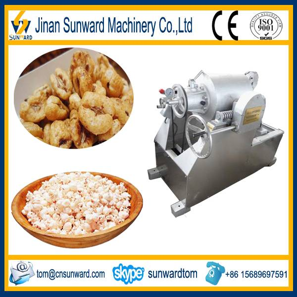 On hot sale good quality puffed rice manufacture