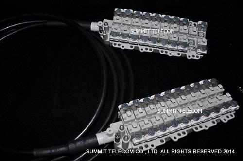 VX Terminal Stubbed Block, 10 / 15 / 20 / 30 Pair STUB Module, Connection Module, Drop Wire Module