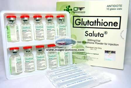 SALUTA Reduced Glutathione for Injection - GENUINE