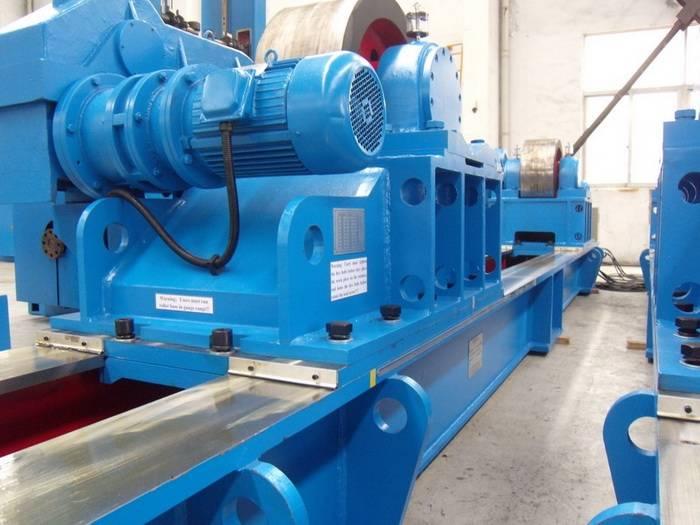 300 Tons Motorised Lead Screw Adjustable Roller Beds