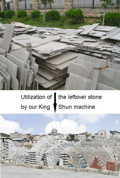 Stone Leftovers Utilization