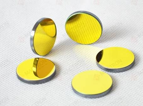 Silicon Laser Reflector Mirror 25mm For CO2 Laser Cutting and Engraving