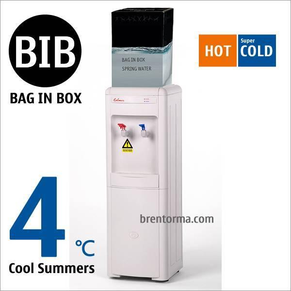16LG-BIB Bag in Box Water Cooler Hot and Cold BIB Water Dispenser