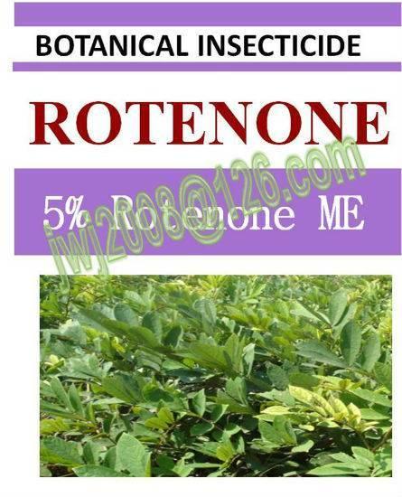 5% Rotenone ME, biopesticide, insecticide, botanic natural, organic