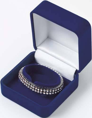 ve;vet jewelry box,velvet bracelet box/velvet bracelet case