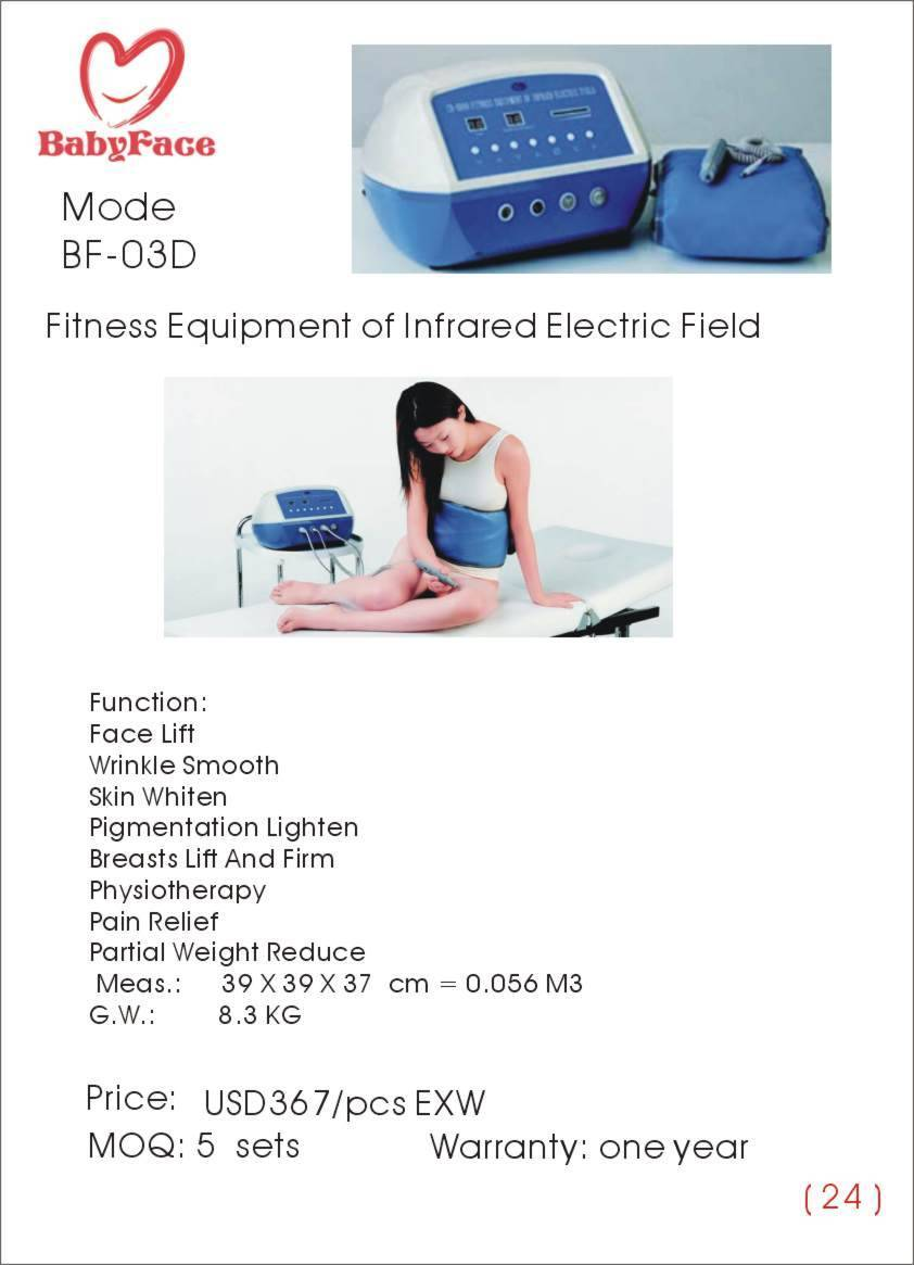 Fitness Equipment of Infrared Electric Field