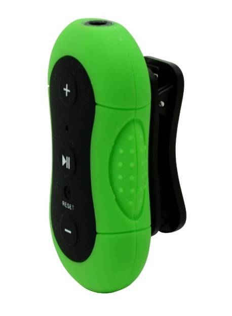 IPX-8 approved Waterproof mp3 player
