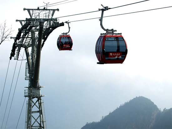 special air conditioner with cableway