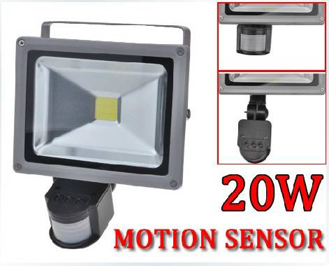 PIR LED Flood Light with Motion Sensor 10W/20W/30W/50W for security,detector,occupancy