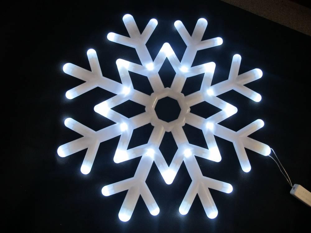 Snow Shape LED string lights