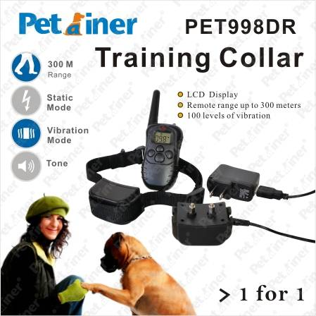 Static and Vibration Remote Dog Training Electronic Collar