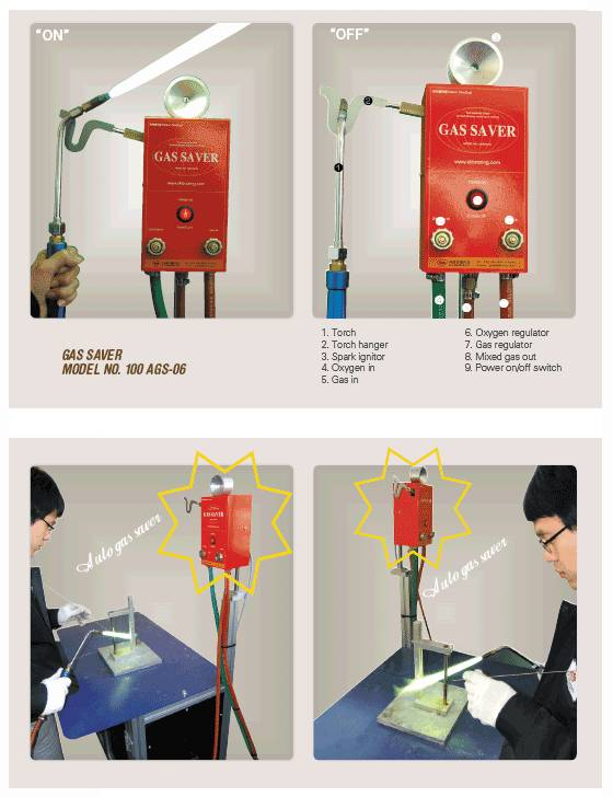 Auto gas saver