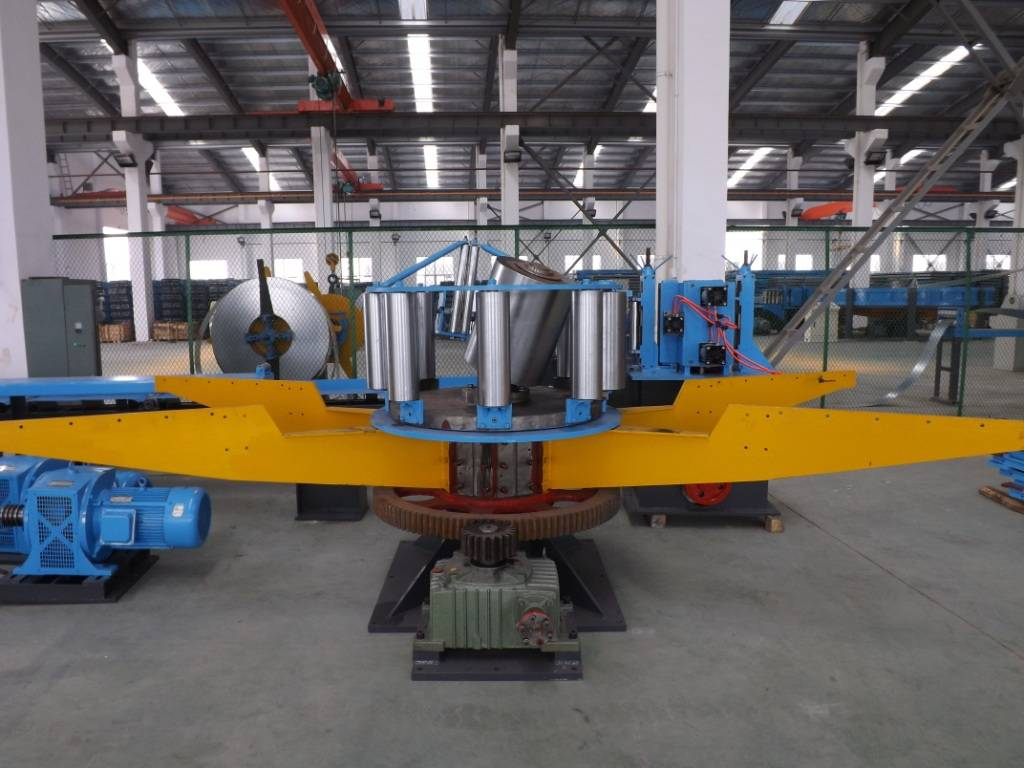 2. steel tube forming machine for round and square tubes
