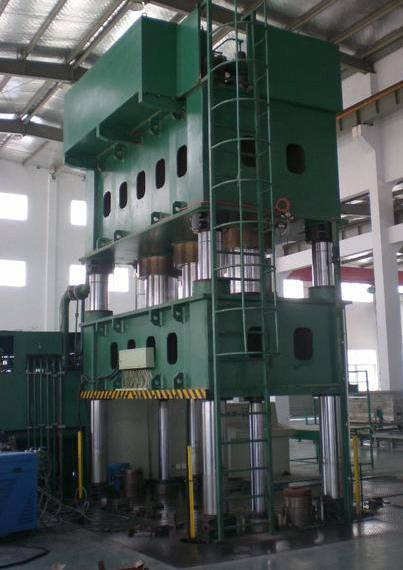 Special hydraulic press SMC composite hot pressing