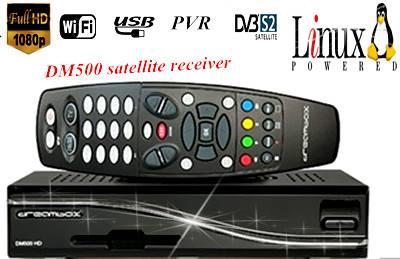 UK DM500 HD digital satellite TV receiver Linux USB CARD