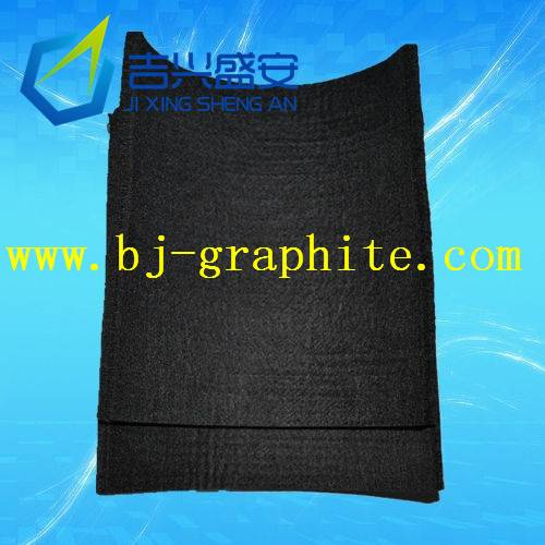 3mm 5mm 10mm thick high purity graphite felt