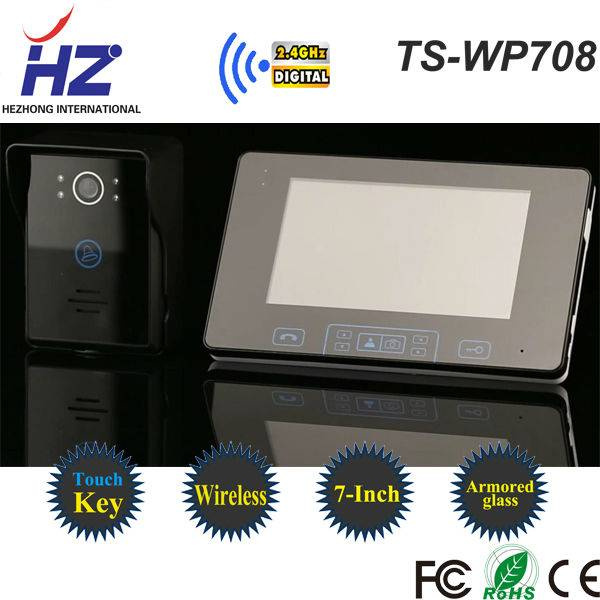 High technology long working life smart home automation video door intercom