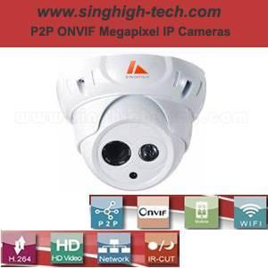 P2p Onvif 2.0MP 1080P Waterproof IR IP Camera (NS6330)